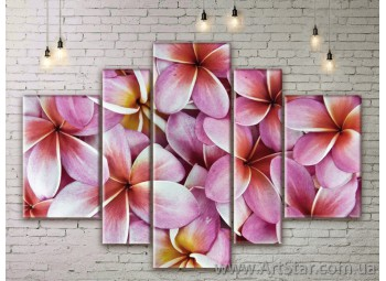 Модульные Картины Цветы, Art. FLWM0091