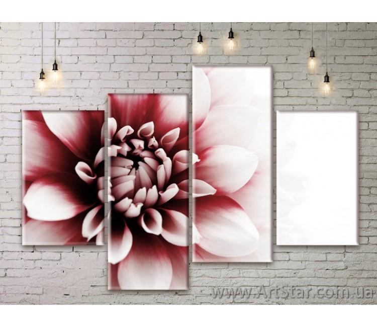 Модульные Картины Цветы, Art. FLWM0211