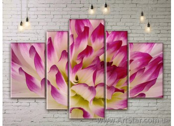 Модульные Картины Цветы, Art. FLWM0231