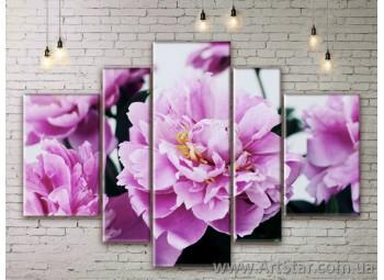 Модульные Картины Цветы, Art. FLWM0243