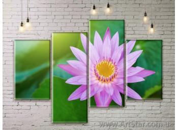 Модульные Картины Цветы, Art. FLWM0355