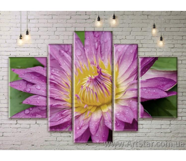 Модульные Картины Цветы, Art. FLWM0391