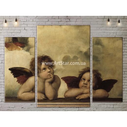 Модульная картина, Рафаель, ART. KLAA777001