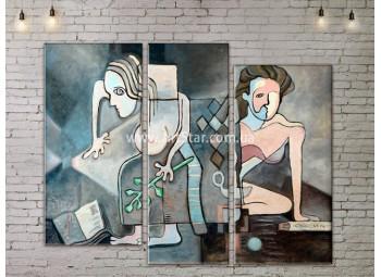 Модульная картина, ART. KLAA777007