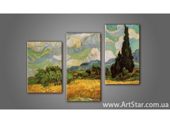 Модульная картина Ван Гог