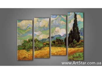 Модульная картина Ван Гог (4)