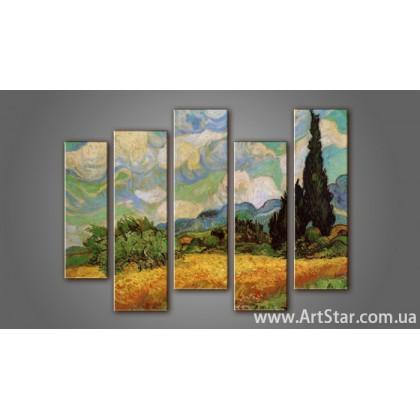 Модульная картина Ван Гог (5)