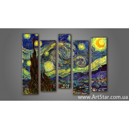 Модульная картина Ван Гог (5) 2