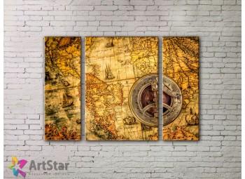 Модульные Картины, древние карты, Art. MPP778014
