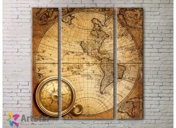 Модульные Картины, древние карты, Art. MPP778052