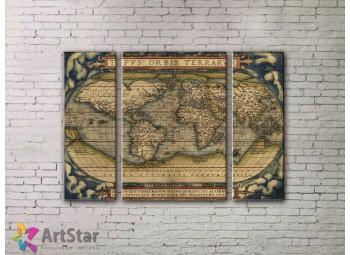 Модульные Картины, древние карты, Art. MPP778068