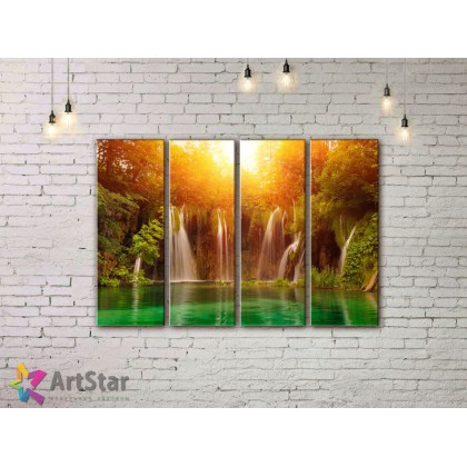 Модульные картины, пейзажи, Art. NAA778028