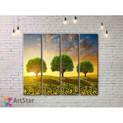 Модульные картины, пейзажи, Art. NAA778030