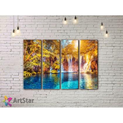 Модульные картины, пейзажи, Art. NAA778032