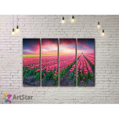 Модульные картины, пейзажи, Art. NAA778034
