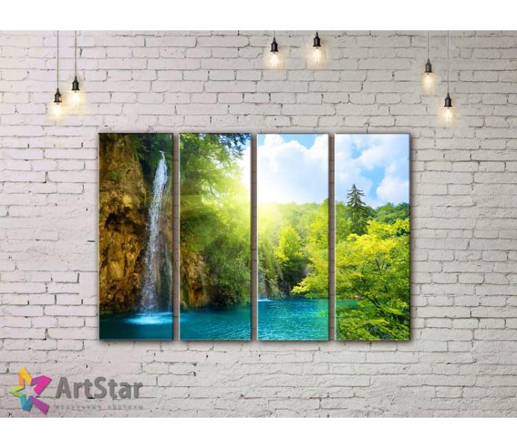 Модульные картины, пейзажи, Art. NAA778038