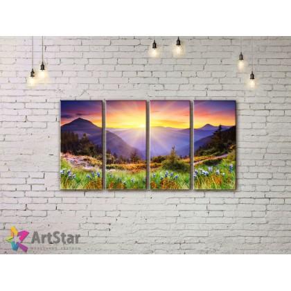 Модульные картины, пейзажи, Art. NAA778040