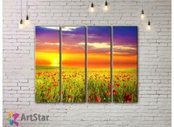 Модульные картины, пейзажи, Art. NAA778042