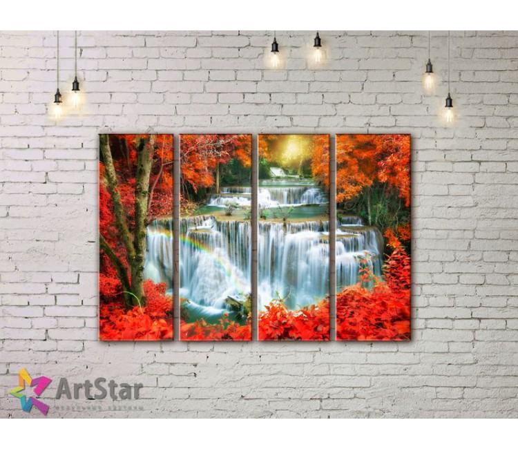 Модульные картины, пейзажи, Art. NAA778050