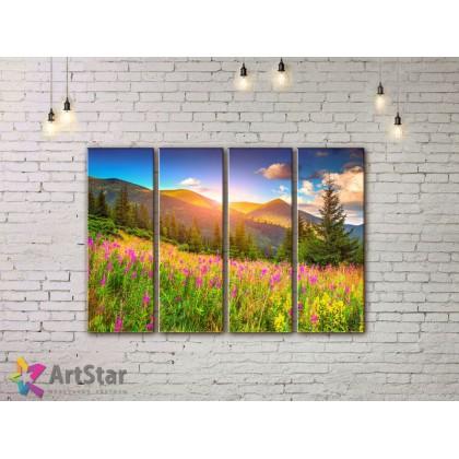 Модульные картины, пейзажи, Art. NAA778052