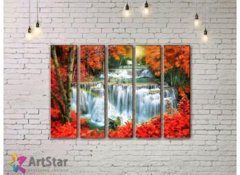 Модульные картины пейзажи, Art. NAA778056