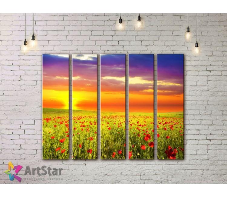 Модульные картины пейзажи, Art. NAA778058