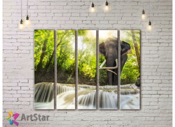 Модульные картины пейзажи, Art. NAA778062