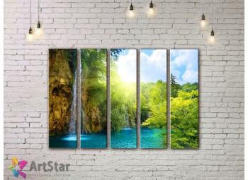 Модульные картины пейзажи, Art. NAA778066