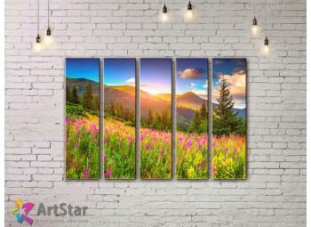 Модульные картины пейзажи, Art. NAA778068