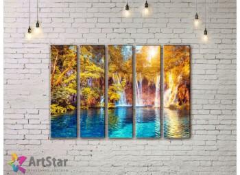 Модульные картины пейзажи, Art. NAA778074