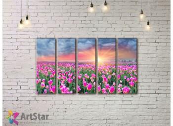 Модульные картины пейзажи, Art. NAA778078