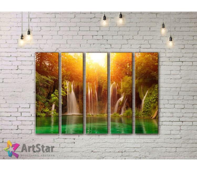 Модульные картины пейзажи, Art. NAA778080