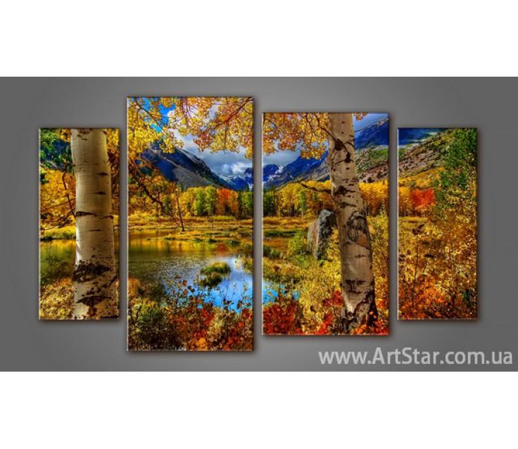 Модульная картина Пейзажи природы (4) 3