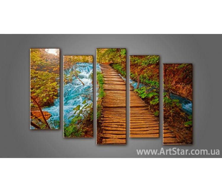 Модульная картина Пейзажи природы (5) 4