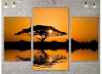 Модульные картины пейзажи, Art. NATA777001