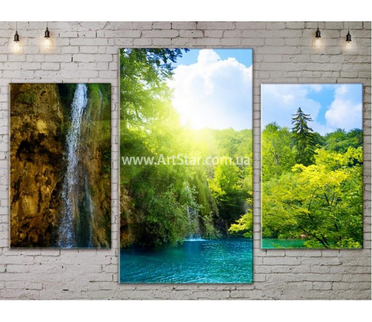Модульные картины пейзажи, Art. NATA777005