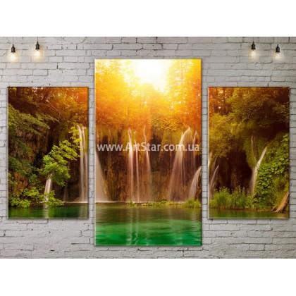 Модульные картины пейзажи, Art. NATA777007