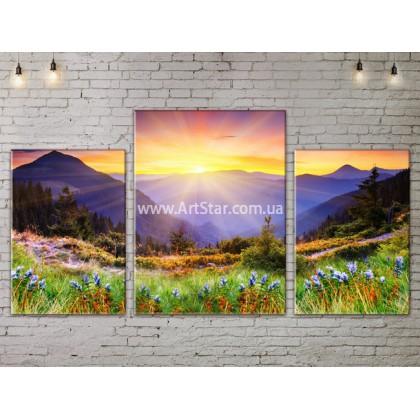 Модульные картины пейзажи, Art. NATA777015