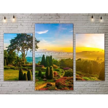 Модульные картины пейзажи, Art. NATA777065