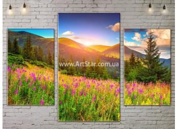 Модульные картины пейзажи, Art. NATA777071