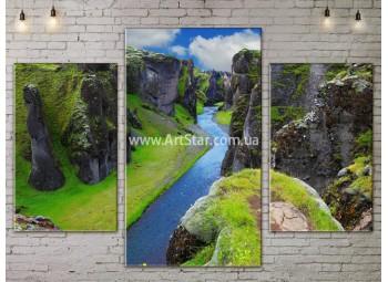 Модульные картины пейзажи, Art. NATA777079