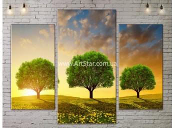 Модульные картины пейзажи, Art. NATA777099