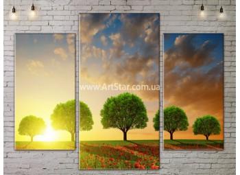 Модульные картины пейзажи, Art. NATA777103
