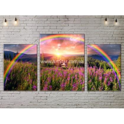 Модульные картины пейзажи, Art. NATA777107