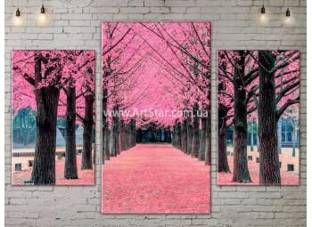 Модульные картины пейзажи, Art. NATA777111
