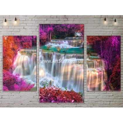 Модульные картины пейзажи, Art. NATA777133