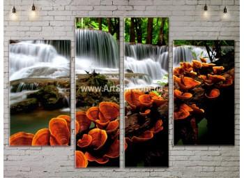 Модульные картины пейзажи, Art. NATA777173