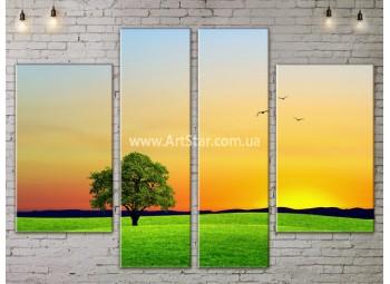 Модульные картины пейзажи, Art. NATA777181