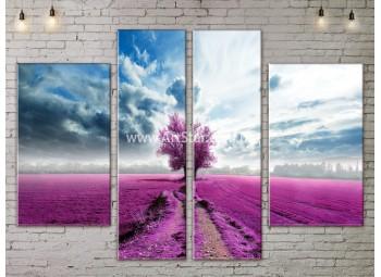 Модульные картины пейзажи, Art. NATA777197