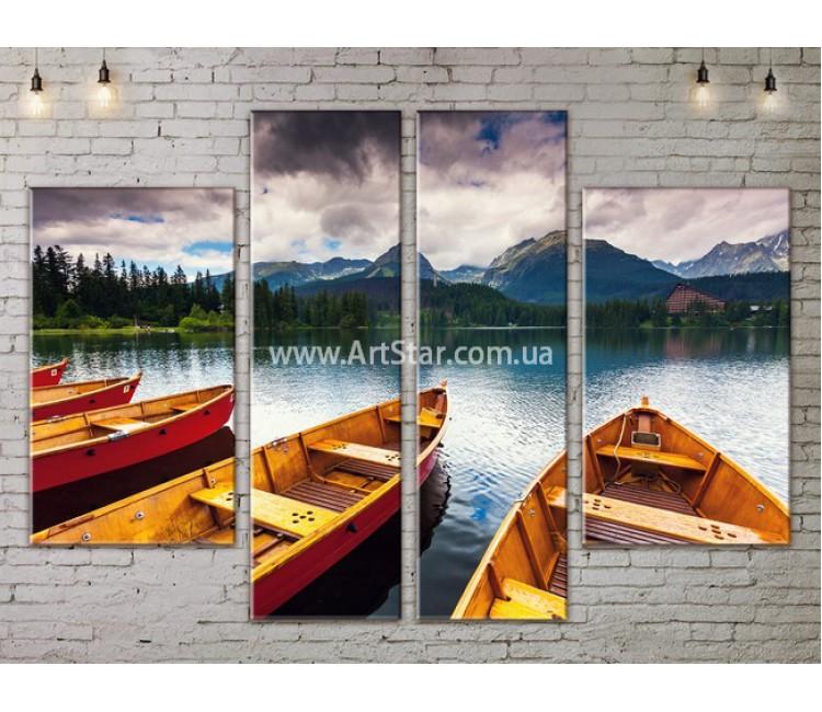 Модульные картины пейзажи, Art. NATA777201